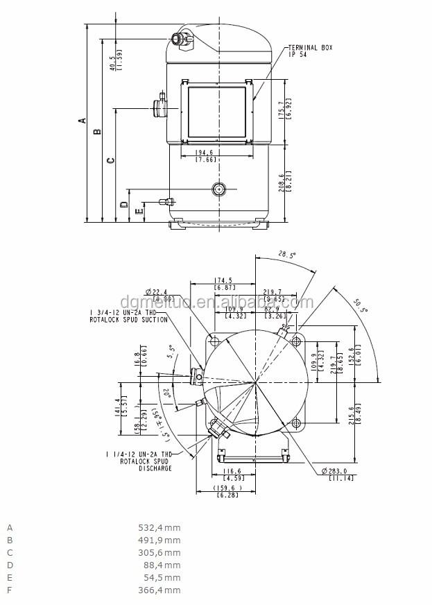 best price copeland brand compressor zf40k4e
