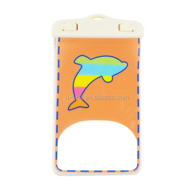 New Cartoon Design waterproof bag for cellphone ,cute stlye waterproof bag for samsung