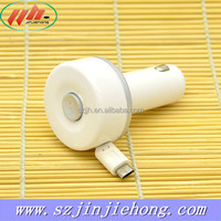 Multiple Use Retractable USB Car Charger with Micro USB Data Cable