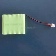 nimh rechargeable batttery AAA600mAh 6V for electric toys ,LED flash light made in China
