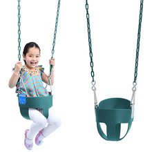 EVA outdoor plastic baby toddler bucket swing