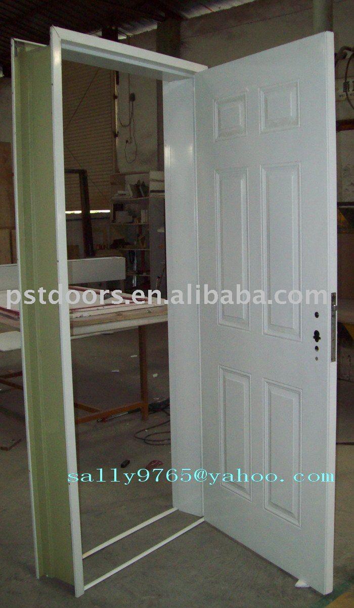 Metal Exterior Doors. Iron Entry Iron Door. . Modern Mountain Home ...