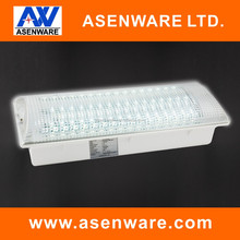 Fire Exit Sign Emergency Light 8W Led exit sign fire proof plastic