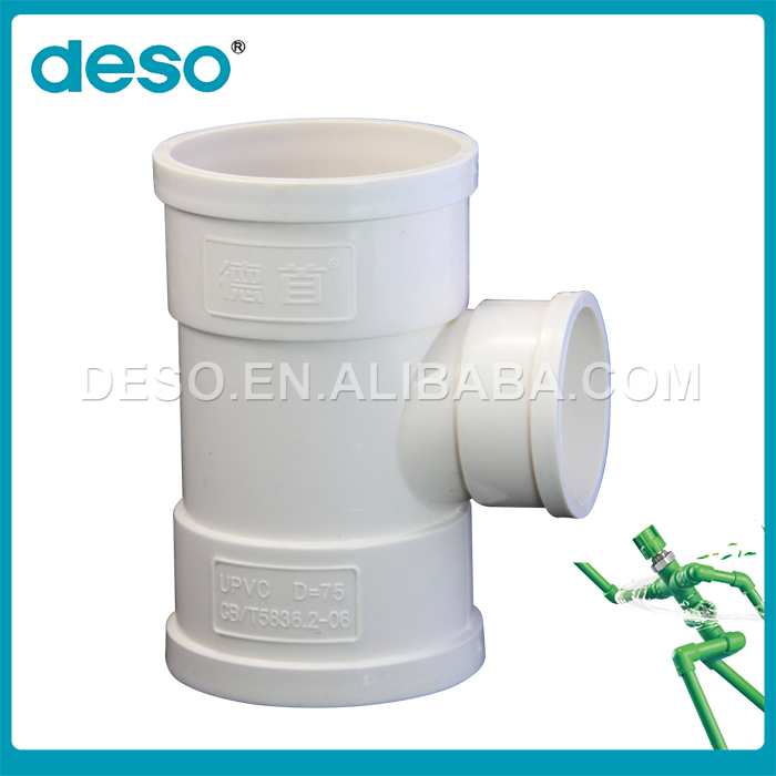 China Manufacture Supplied upvc plumbing pipe fitting