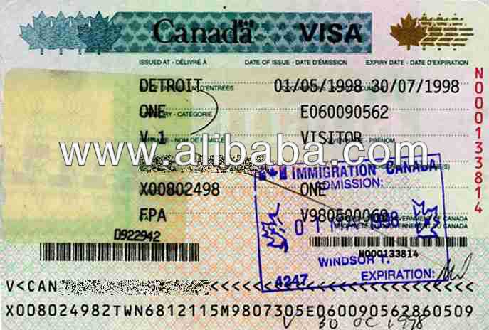 VISA TO WORK IN CANADA