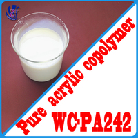 WC - PA242 Multi-color color grain of pure acrylic emulsion with