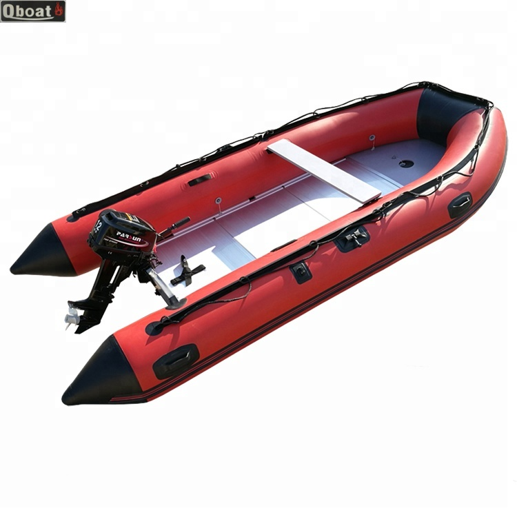 CE Korea manufacturer 10 passengers Zodiac Inflatable rubber <strong>Boat</strong> with outboard motor for sale