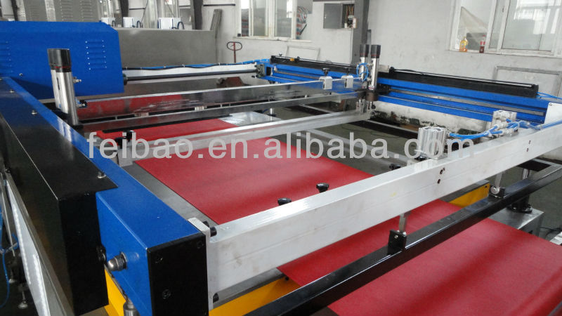 PP Fabric Roll Automatic Screen Printing Machine wom