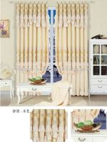 2011 new design polyester window curtain