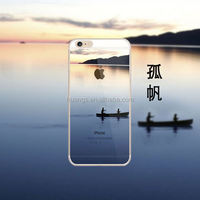 Fantastic case for phone with 3d Sailling Boat image Back case for iPhone 6