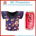 2016 Fashion Soft T-shirt Neoprene Can Stubby Holder Cooler