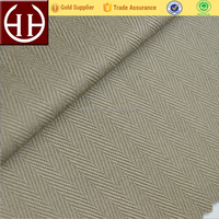 reliable chinese supplier 100% cotton herringbone twill fabric 83*44 292GSM fabric and textile