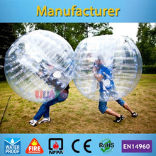cheap 1.2m bumper ball body ball body bounce grass ball for kids