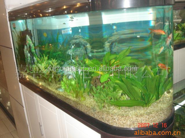 acrylic golden dragon fish tank