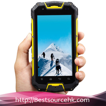 4.5inch IP68 waterproof mtk6589 quad core NFC Optional Snowpow M8 rugged phone with walkie talkie/ptt phone