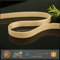 Custom elastic band for seamless sports bra