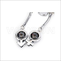 souvenir couple mobile chain, lovers cute mobile phone security strap