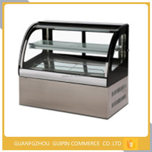Modern cake display used glass door refrigerator /cabinet refrigerate