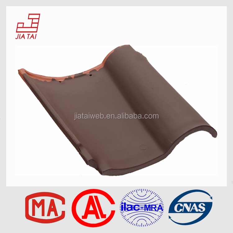 RS-5C30 Favorable price villa wind-proof clay roof tiles