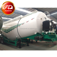 2017 Air compressor and diesel engine 55CBM bulk cement tanker trailer for sale