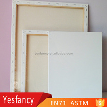 best seller 100% cotton blank stretched canvas 16x20