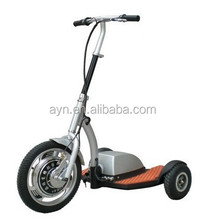 three wheel electric scooter with stand up/ seat zappy electric mobility vehicle