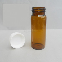 25ml Amber Wide Mouth Glass Bottles For Pharmaceutical