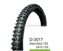 China cross-country bicycle tires 24x2.125