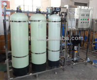 High salt removed water softener with ro pure water making machine