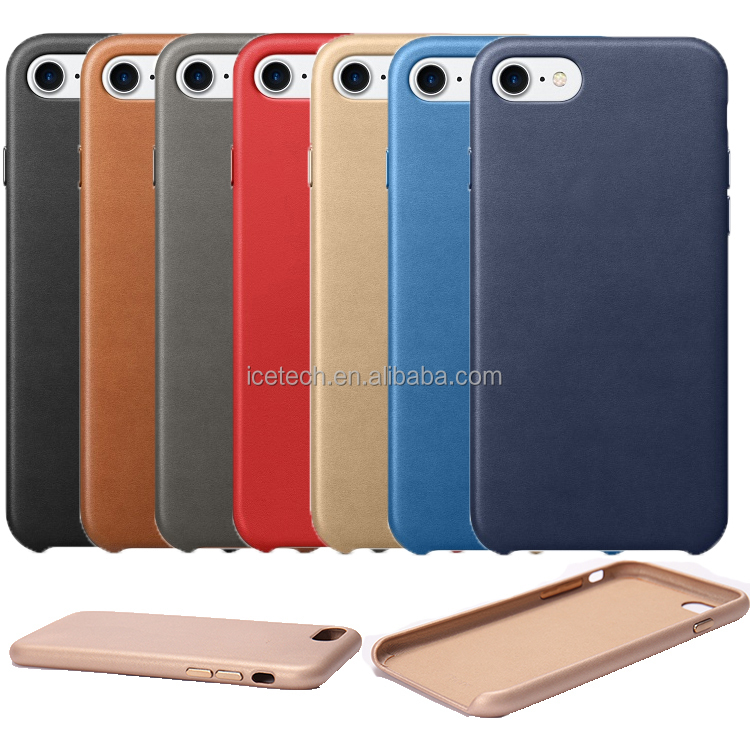 High quality 1:1 original leather case for iphone 7 plus