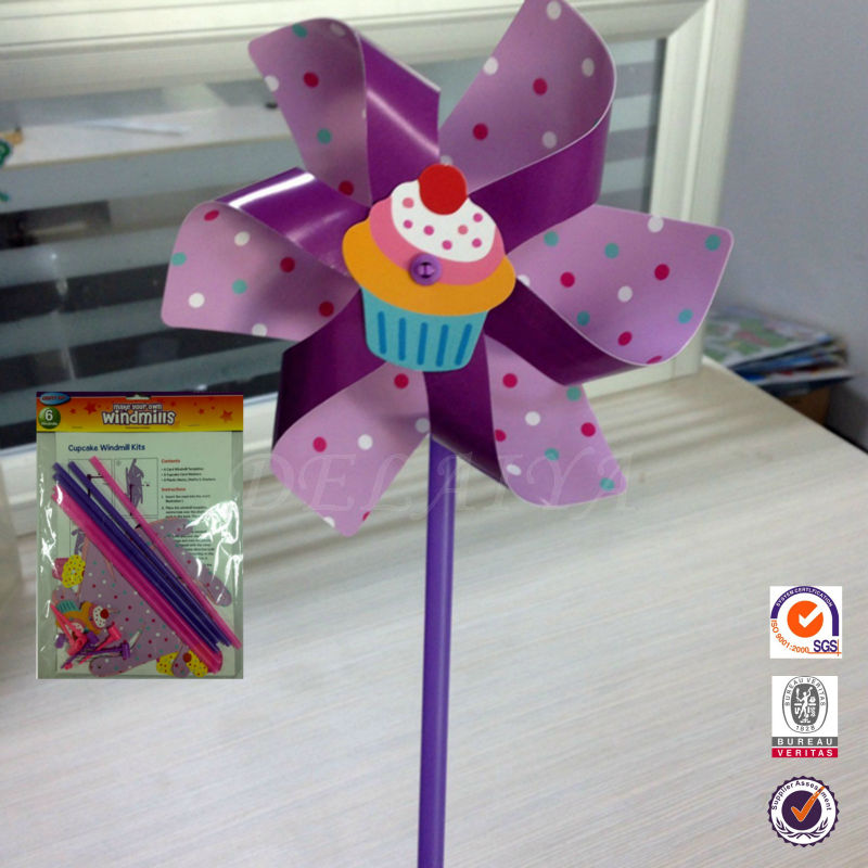 Classics DIY paper toy windmills for kids