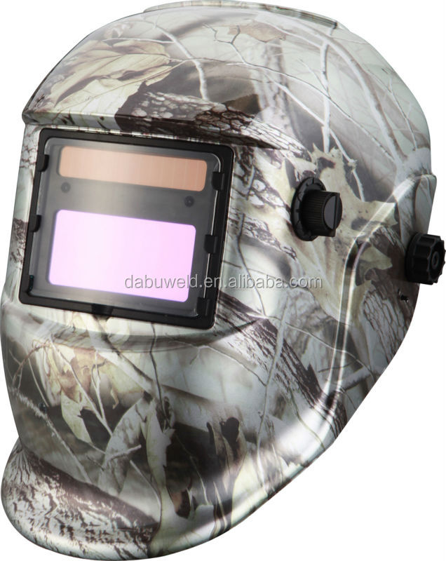 PP CE ROHS qualified military auto-darkening welding face shield helmet