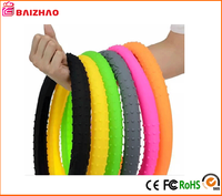 China Manufacture Car Steering Wheel Cover custom plastic Silicone Steering Wheel Cover