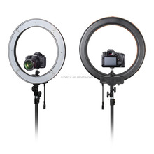 "RD240 18"" 5500K Dimmable LED Adjustable Ring Light + Diffuser +carry bag + light stand led video ring light"
