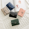Cheap Women Pu Leather Card Holder Coin Pocket Wallet