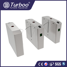 High security TCP/IP barcode ticket training club access control gate flap barrier gate