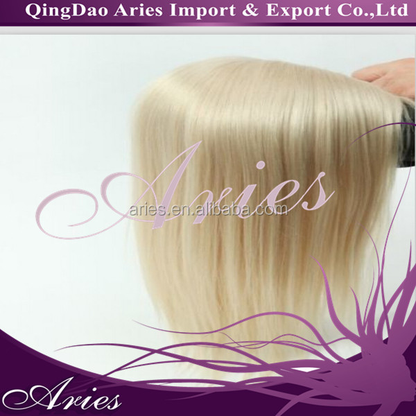 full swiss lace honey blonde real malaysian remy hair topper wig ,top pieces