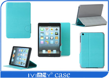 stand Smart Cover Leather tablet pc case for Ipad