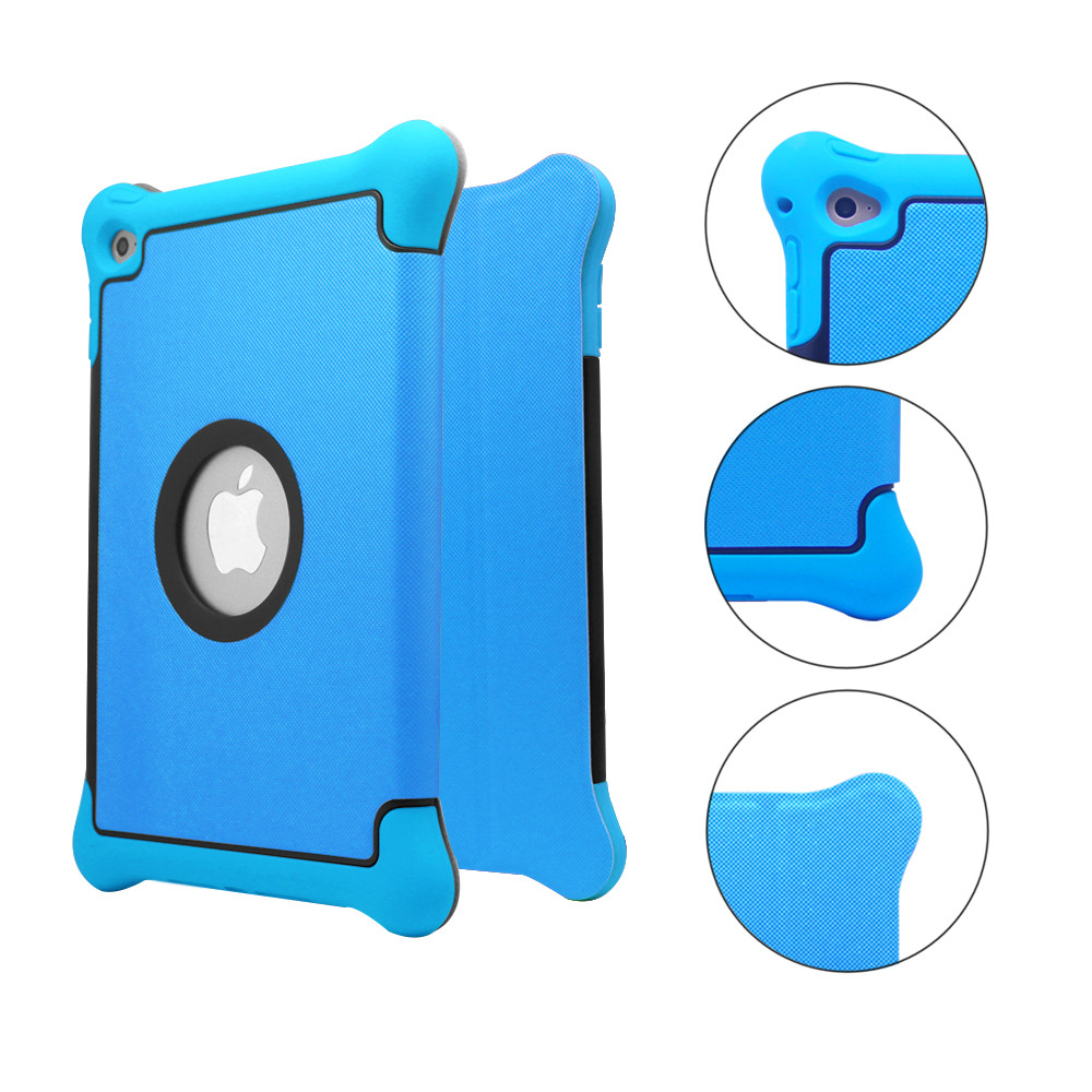 Protective Anti-slip Soft Silicone Back Case Cover for iPad Air 2