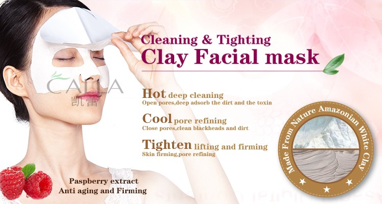 facial treatment clay mask