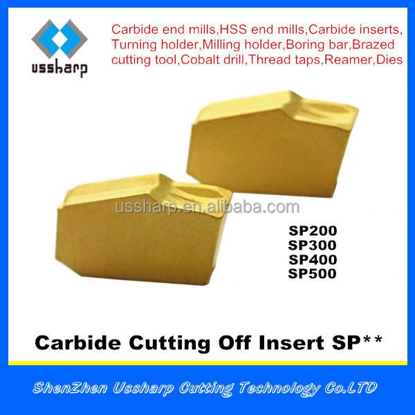 cutting off insert SP,parting off insert SP,carbide insert SP