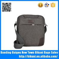 Tmall best selling wholesale cross body sling shoulder bags cheap teens larger capacity canvas messenger bag for man