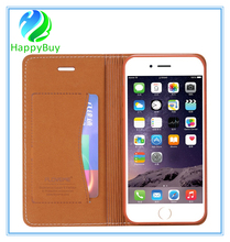 Ultra thin leather wallet cell phone case for iphone6/6s/6 plus,7/7 plus with nest quality
