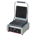 Industrial Catering Equipment Electric Contact Grill Ribbed Top and Bottom Plate BN-811
