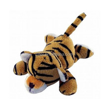 Plush cute tiger magnet toy