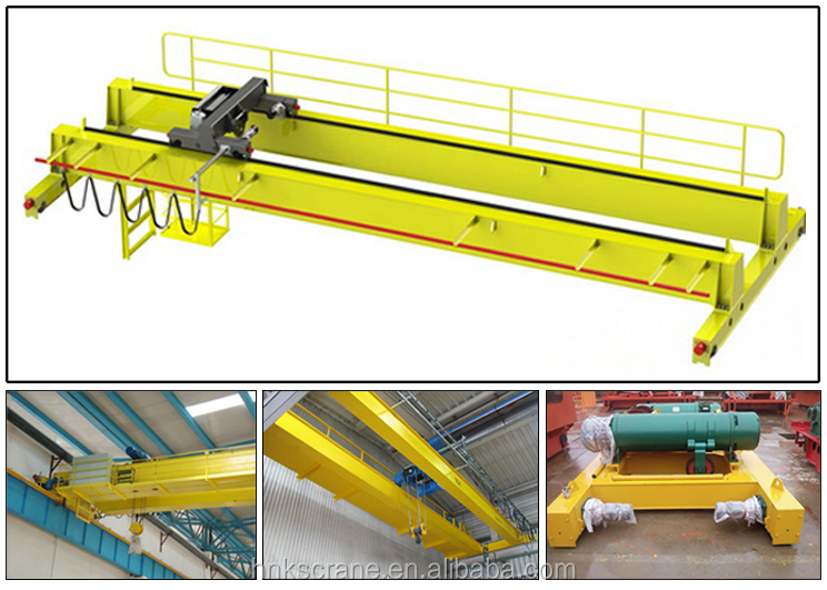 Henan Mine Electric Hoist Bridge Crane for 3tons 5tons 10tons 16tons 20tons