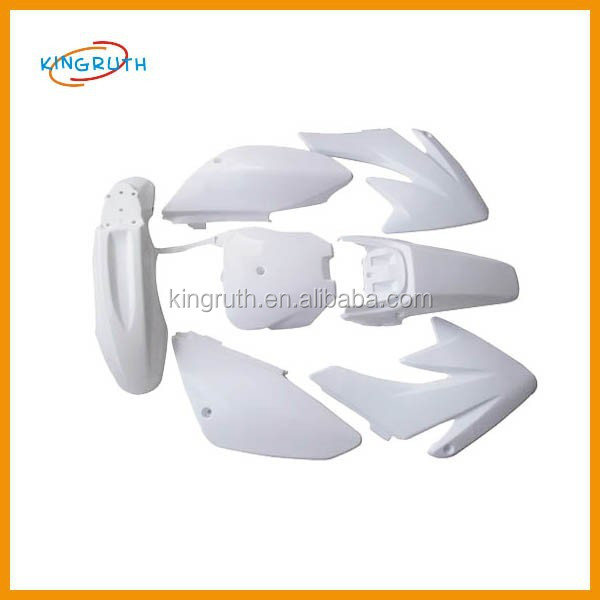 White Body Fairings Kit Plastics Set CRF 70 CRF70 125cc 140cc 150cc Dirt Pit Bike