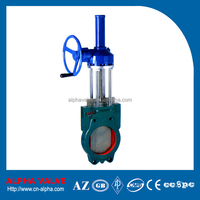 GearBox Operated Slurry Knife Gate Valve