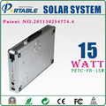 variety of charging ways 15W Solar Power System For Home