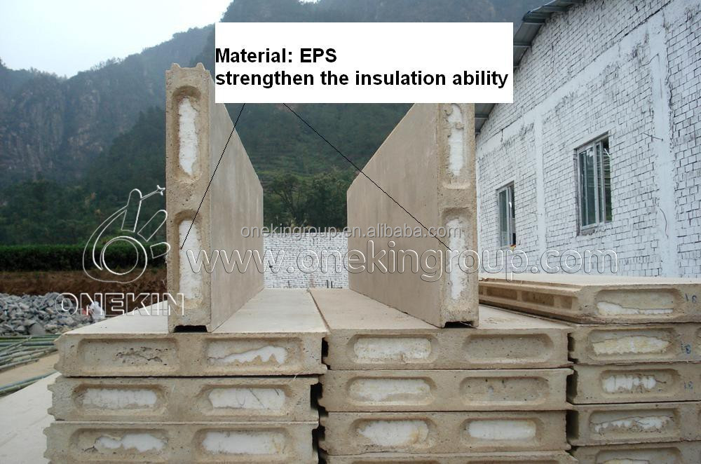 EPS sandwich wall panel for prefab house